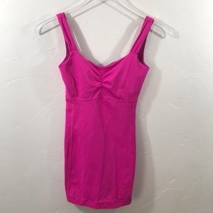 Lululemon Ruched Long Tank Top Luxtreme